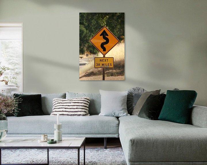 Sfeerimpressie: Road sign van Karen Boer-Gijsman
