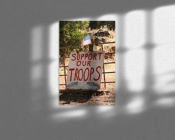 Support our Troops von Karen Boer-Gijsman
