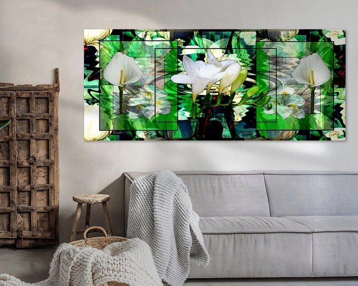 Beispiel: Floraler Traum von Gertrud Scheffler