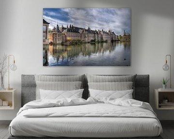 Binnenhof in Den Haag van Jan Kranendonk