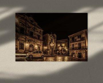 Piazza in Piazza Armerina  von Mario Calma