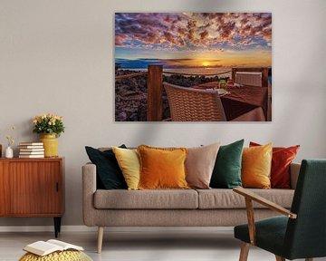 Tafel met uitzicht van Mario Calma