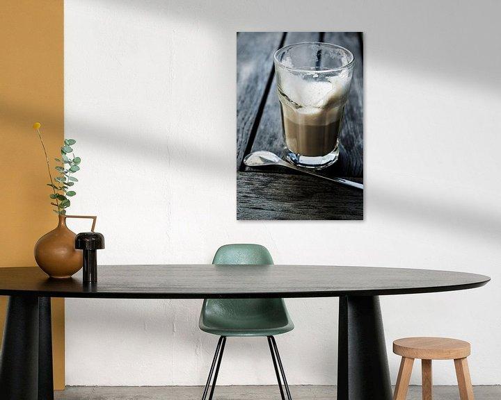 Sfeerimpressie: latte macchiato van Norbert Sülzner