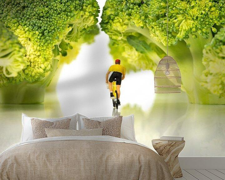 Impression: miniature figures on bike in forest sur ChrisWillemsen