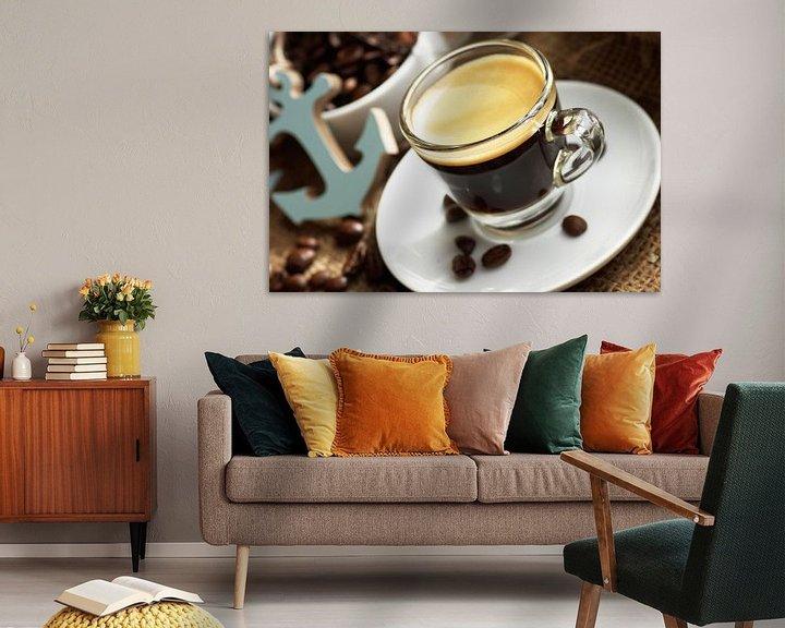 Beispiel: Espresso maritim genießen  von Tanja Riedel