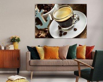 espresso in een maritieme ambiance van Tanja Riedel