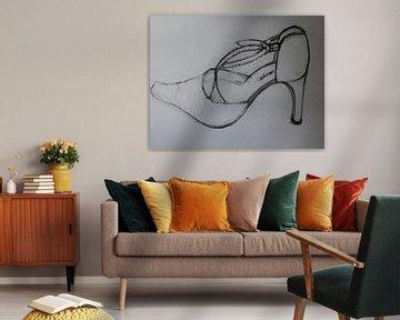 Schoen  (pump) (Shoe, Schuh, chaussure)