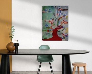 De kleurenboom (The Color Tree, Farbebaum, arbre de couleur)