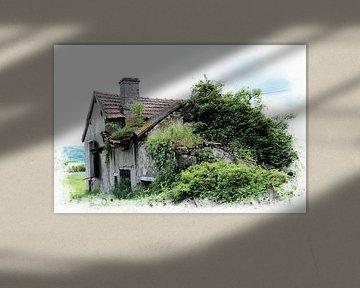 vieux et oublié (oud en vergeten)  van Yvonne Blokland