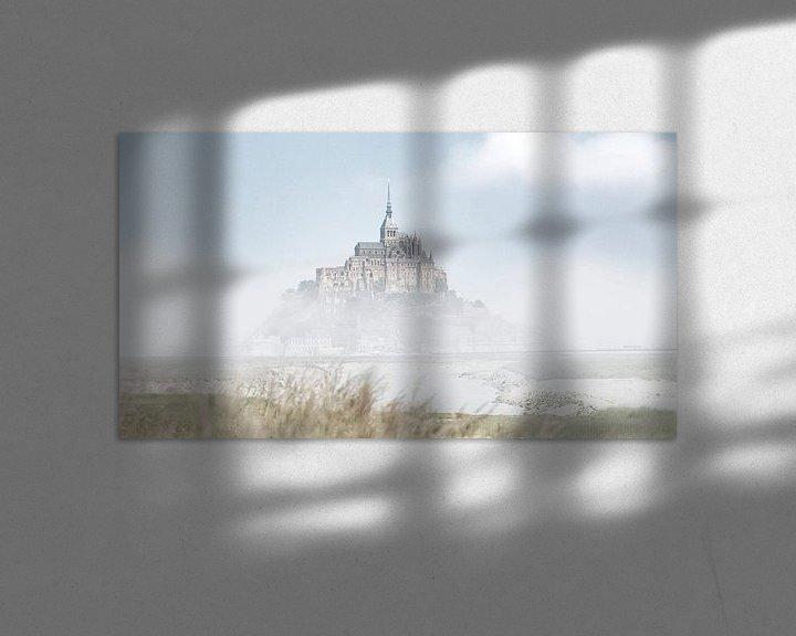 Sfeerimpressie: De Mont Saint-Michel Frankrijk kleur van Rob van der Teen