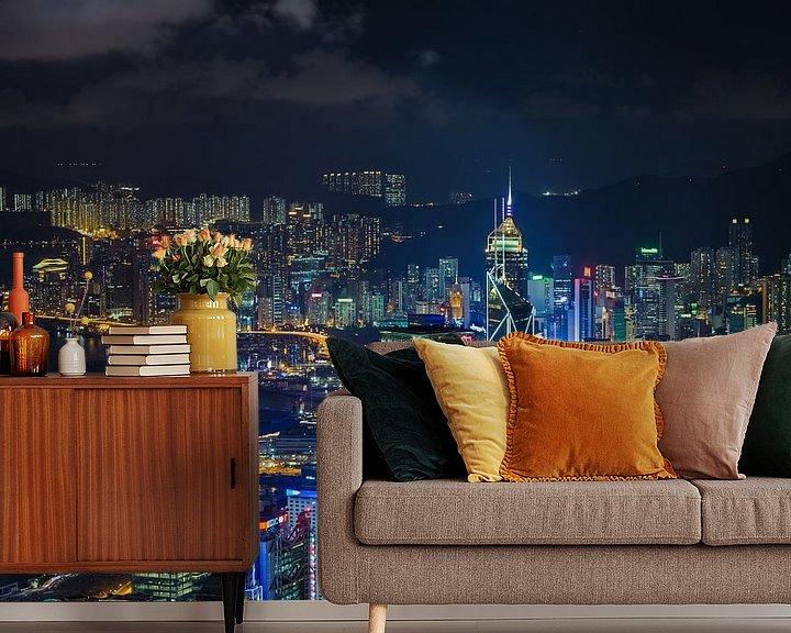 Sfeerimpressie behang: HONG KONG 27 van Tom Uhlenberg