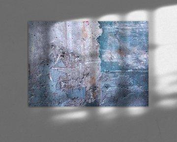 Abstracte betonnen muur van Artstudio1622