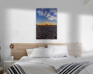 Laatste zonnestralen van Bart Verbrugge