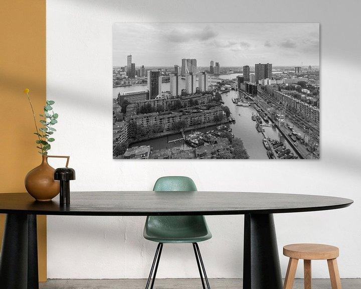 Sfeerimpressie: De Leuvehaven in Rotterdam van MS Fotografie   Marc van der Stelt