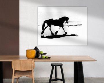 Fries paard in circus von Anouschka Hendriks