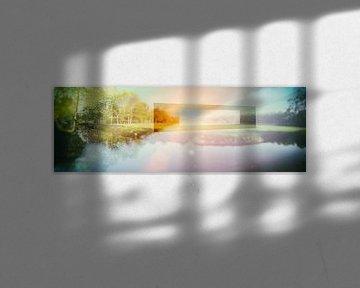 konzeptioneller Naturhintergrund, Doppelausstellung von Ariadna de Raadt