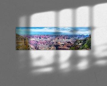 Breites Panorama des Grand Canyon von Rietje Bulthuis
