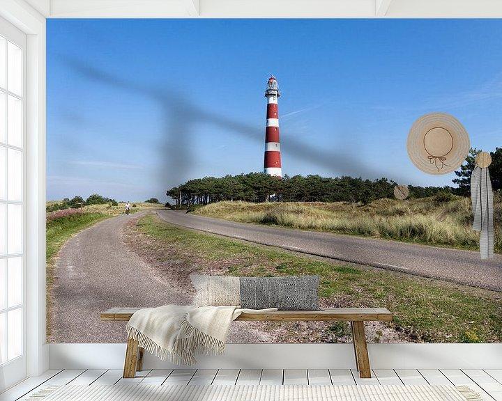 Beispiel fototapete: De vuurtoren van Ameland von Frenk Volt