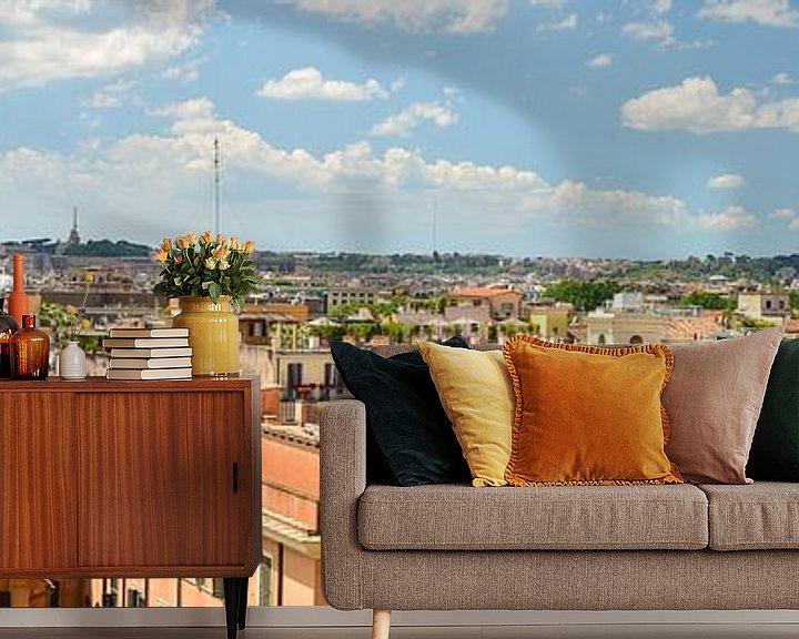 Sfeerimpressie behang: Rome view van Arjan Penning