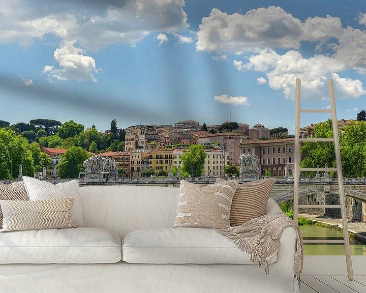 Beispiel fototapete: Rome view von Arjan Penning