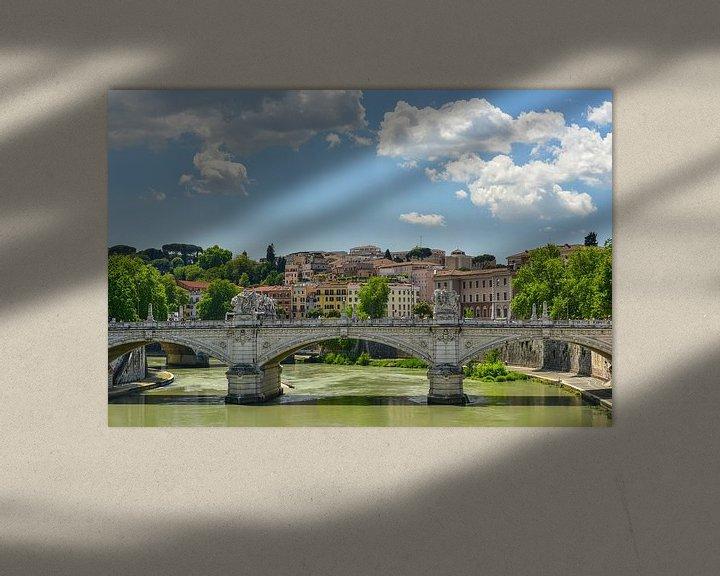 Beispiel: Rome view von Arjan Penning