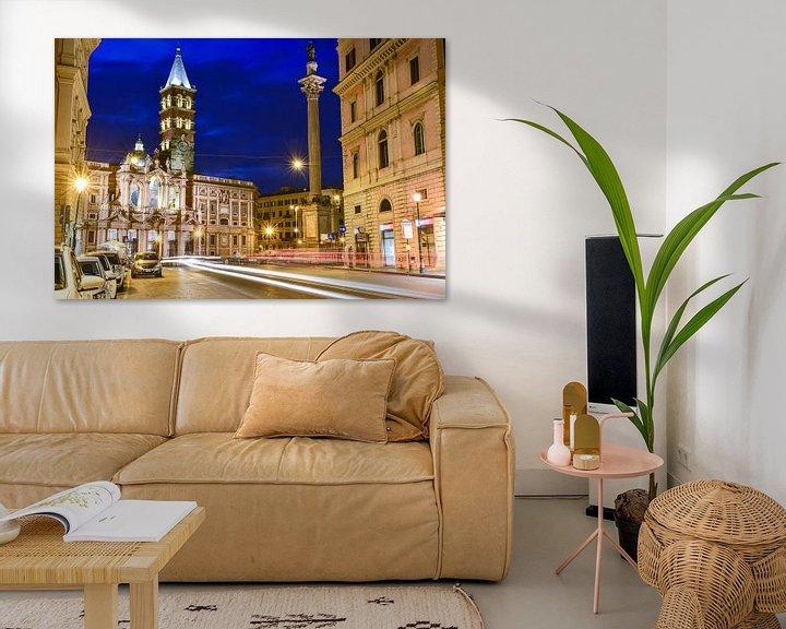 Beispiel: Rome @ night von Arjan Penning