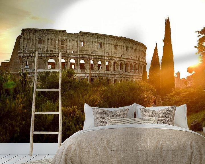 Beispiel fototapete: colosseum von Arjan Penning