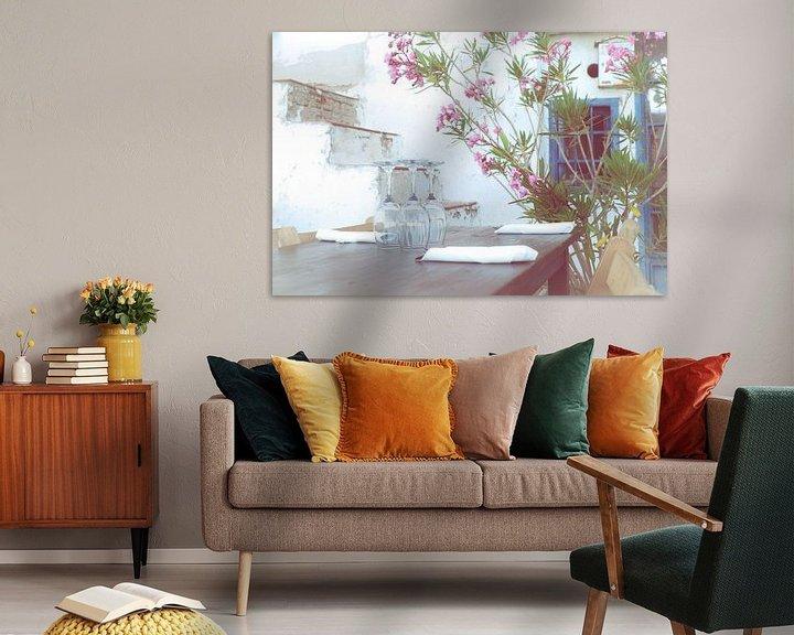 Sfeerimpressie: Aquarel van Jellie van Althuis