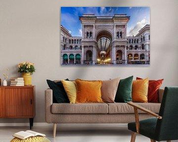MILAN Galleria Vittorio Emanuele II van Melanie Viola