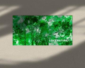 EMOTIONAL ART Love Nature | Panorama von Melanie Viola
