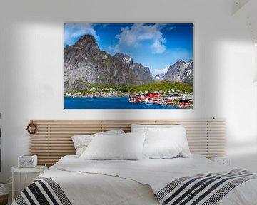 Reine Lofoten in Noorwegen van Hamperium Photography