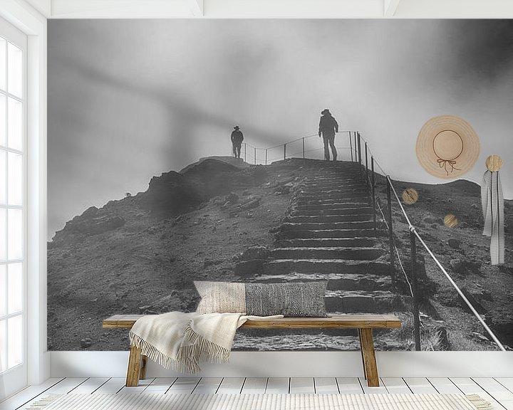 Impression: people on the pico arieiro on madeira island sur ChrisWillemsen