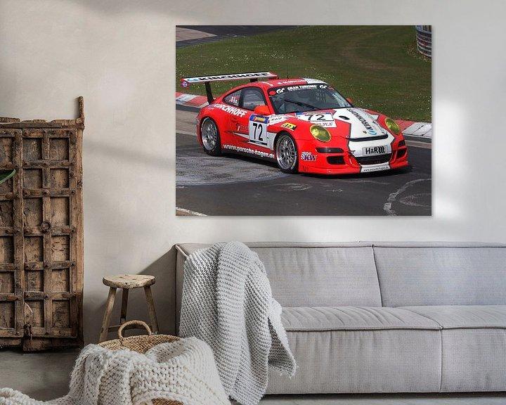 Beispiel: Porsche Spotwagen von Roland Klinge
