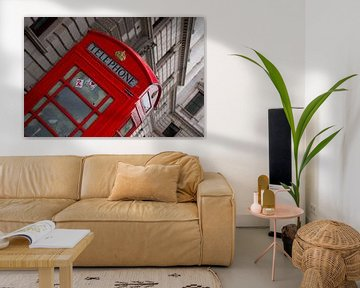 Telephonebox Londen sur Babette van Gameren