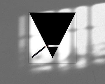 Black and White van Karl-Heinz Lüpke