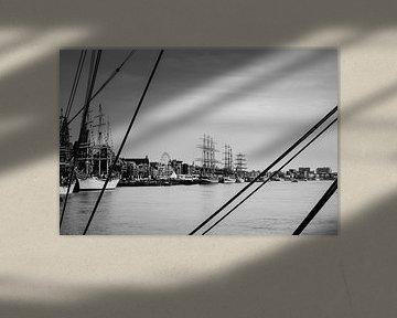 Die Wolkenkratzer von Antwerpen von Maurice Weststrate