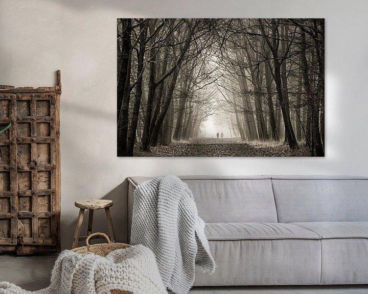 Sfeerimpressie: Eenzaam in de mist van Sandra Kuijpers