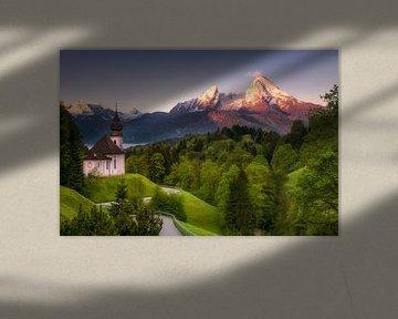 Pilgrimage Church Maria Gern (Bavaria / Germany)