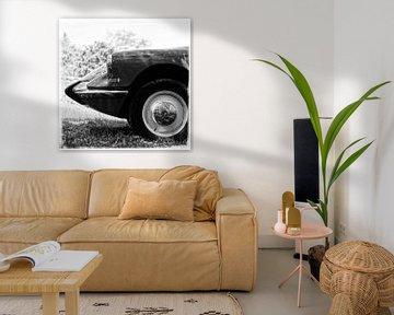 Citroën DS en noir et blanc sur Wim Schuurmans