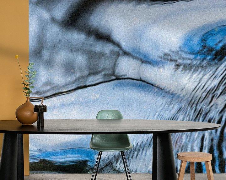 Sfeerimpressie behang: Stromend water van Aukje Bakker