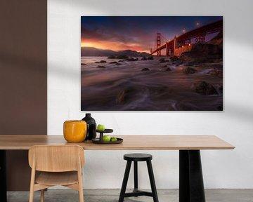 Duistere Golden Gate von Albert Dros