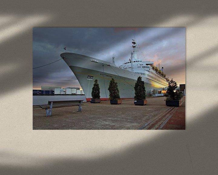 Sfeerimpressie: SS Rotterdam van Anton de Zeeuw