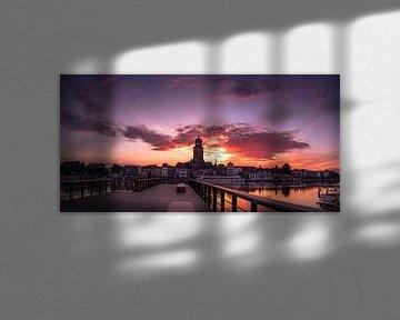 zonsopgang Deventer von Martijn van Steenbergen
