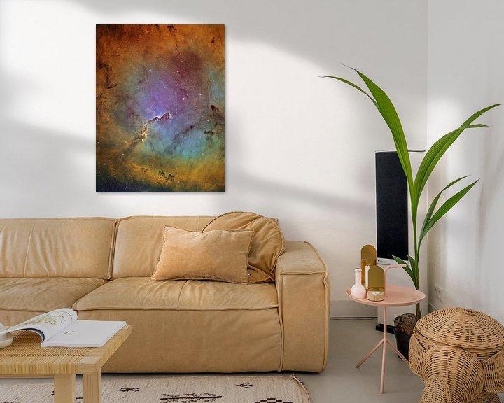 Sfeerimpressie: Elephant Trunk Nebula van André van der Hoeven
