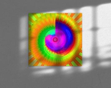 Die Regenbogen-Energie-Spirale von Ramon Labusch