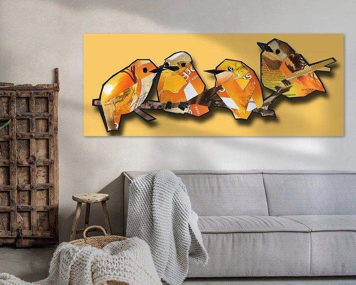 Sfeerimpressie: Oranje kwartet van Ruud van Koningsbrugge