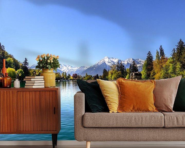 Beispiel fototapete: Schweizer Alpen von Bojan Radisavljevic