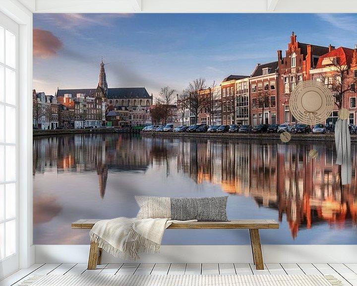 Sfeerimpressie behang: Haarlem van Photo Wall Decoration