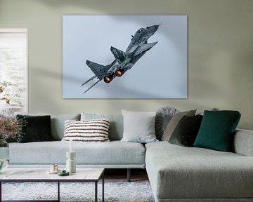 MIG29 Poolse luchtmacht van Joram Janssen