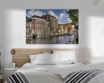 Gracht in Leiden von Jan Kranendonk